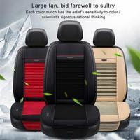 Car Seat Ventilation Mat Summer 3 Fan Single Cold Pad Multi Function Cooling Pad Car Seat Fan Cool Seat Cushion
