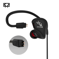 KZ ZS3 Hifi Earphone With Without Mic Metal Heavy Bass Sound Quality For Music Handsfree Phone