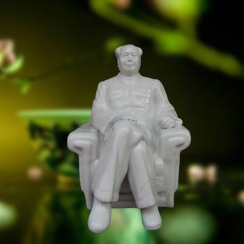 crafts decor hand wedding cutting dies home Jingdezhen ceramic sculpture crafts creative Home Furnishing jewelry Mao Zedong Mao