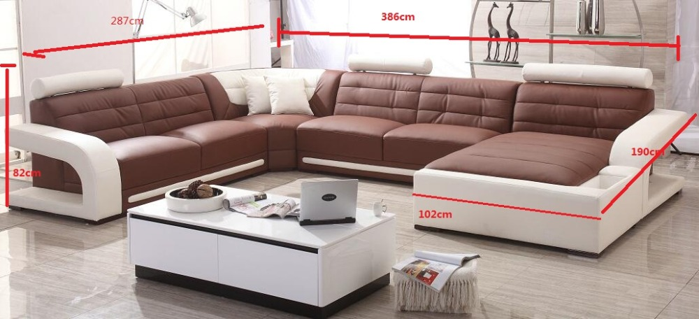 Modern Sofa Set Leather Sofa With Sofa Set Designs For Sofa Set Living Room  Furniture In Living Room Sofas From Furniture On Aliexpress.com   Alibaba  Group