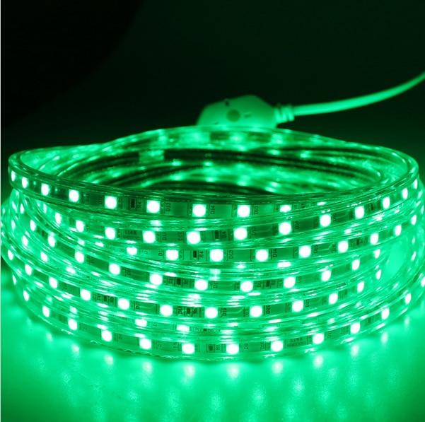 Супер жарқын 5050 AC 220V жолақты икемді - LED Жарықтандыру - фото 4