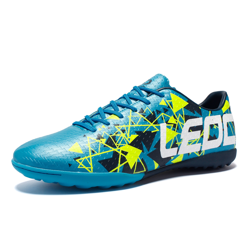 Soccer Shoes for Boys Crampon Football Professional tacos de futbol women sneakers TF Athletic Outdoor Cleats Sports Training 45