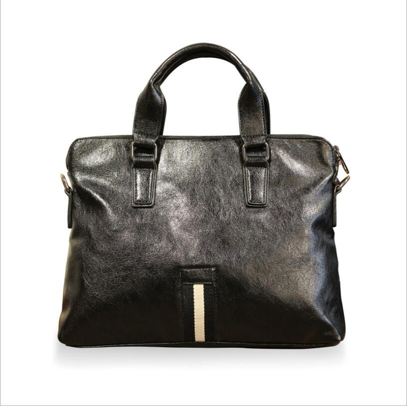 Bag Laptop Briefcase Handbag Computer Business Casual Male Fashion Retro Korean
