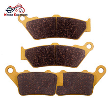 2pair Motorcycle Front Rear Brake Pads Disk For BMW C1 125/200 F/G 650 FOR APRILIA Pegaso 650 Trial 1999-2012 цена в Москве и Питере
