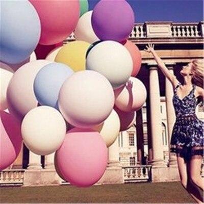 1 шт., 36 дюймов(90 см), половина размера, огромный латексный шар, вечерние шары для игры в день рождения, свадьбы, Детские вечерние игрушки, шляпа, праздничная атмосфера, воздушный шар