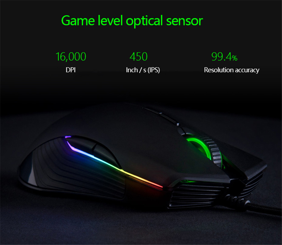 Razer Lancehead Tournament Edition Wired Gaming Mouse 16000DPI Buy