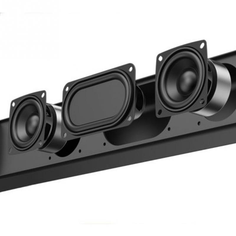 Multifuncional TV Speaker Home Theater Soundbar Bluetooth 4.2 Wireless Sound Bar Speaker System AUX TF Card FM Speaker