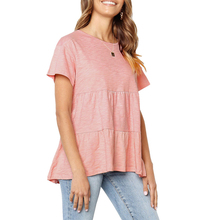 New Fashion Solid Color Sweet T-shirt Women Simple Style Casual Knitted Short Sleeve Patchwork Daily Tops Tee Shirt Plus Size
