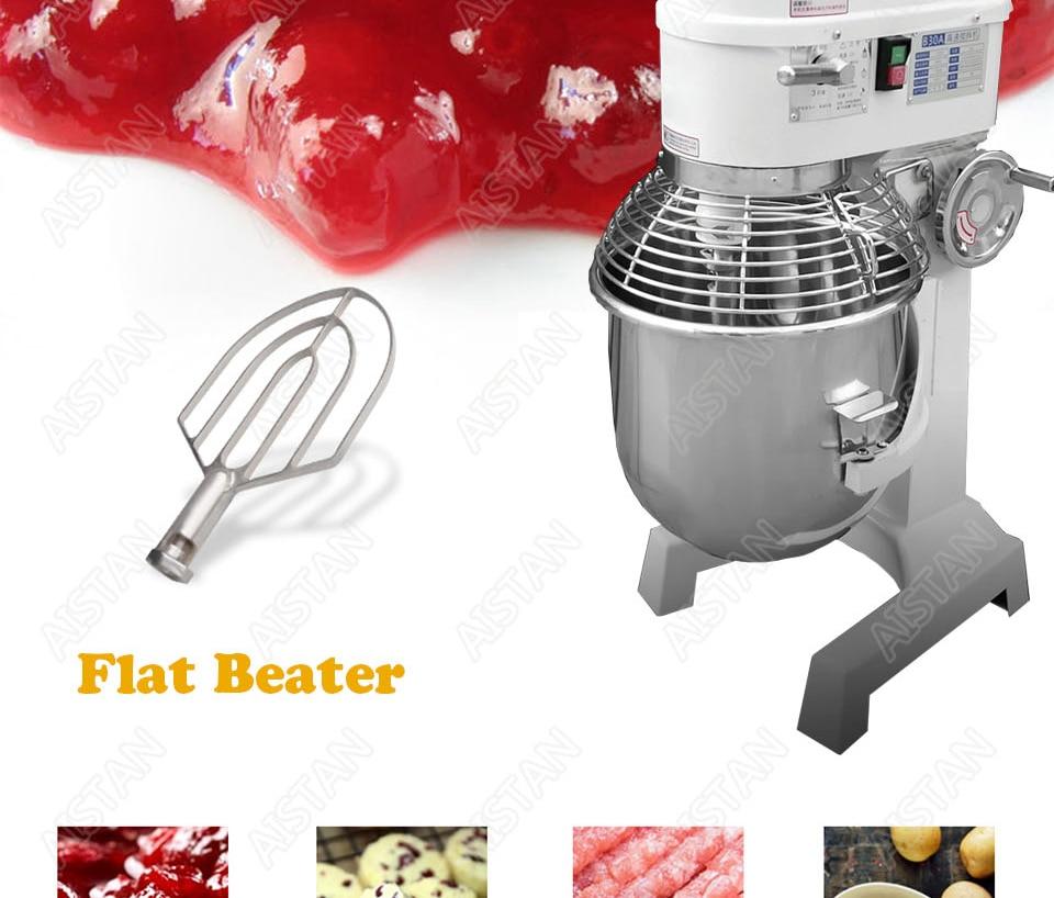 B20A/B30A commercial electric 20L/30L food mixer planetary mixer dough mixer machine for dough kneading/ egg beating/food mixing 9