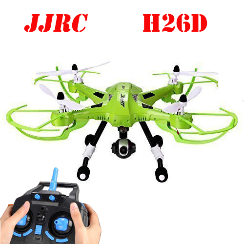 JJRC H26D With 3.0MP Wide Angle HD Camera 2-Axis Gimbal One Key Return With Height Hold RC Quadcopter RTF original jjrc h28 4ch 6 axis gyro removable arms rtf rc quadcopter with one key return headless mode drone