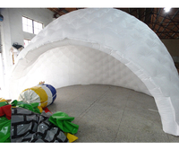 Oxford inflatable tent customized dome tents china white outdoor tent