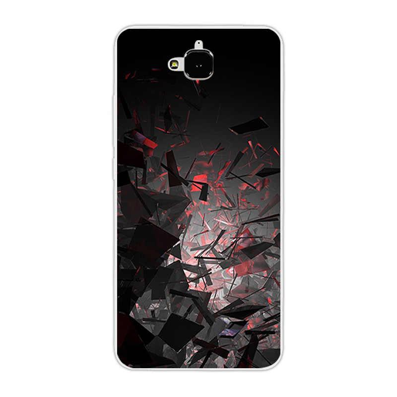 TPU souple Lune étui pour Huawei Honneur 4C Pro TIT-AL00 Y6 Pro TIT-L01 Profitez de 5 Honneur Holly 2 Plus Couverture Pour Huawei Honor Jouer 5X