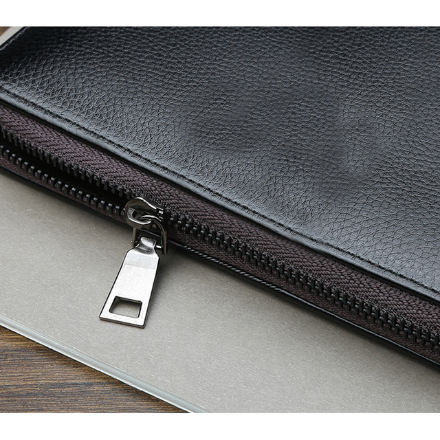 Long clutch wallet for male
