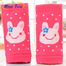 Baby Leg Warmers Socks Kids Safety Crawling Elbow Cushion Infants Toddlers Knee Pads Animal Print