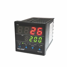 0-1300 Degree Temperature Controller Digital Display Dual Line Thermocouple Inpute Relay Output Thermoregulator Thermometer стоимость