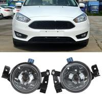 2Pcs Left Right Car Fog Light Lamps 12V With Light Housing Fit For Ford Focus 2005