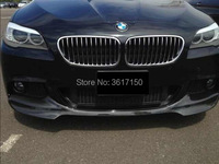 Front Lip / Rear Lip Designed For BMW F10 F18 Of The V Style Carbon Fiber Front And Rear Diffuser