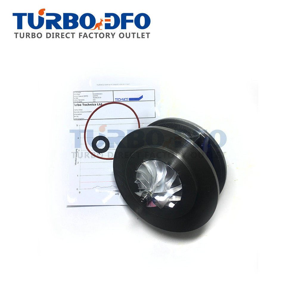 KKK BV38 turbo core Balanced 5438-970-0003 for Opel Astra Meriva Mokka Zafira Insignia Vivaro 1.6 CDTI 136HP B16 DTH - turbine