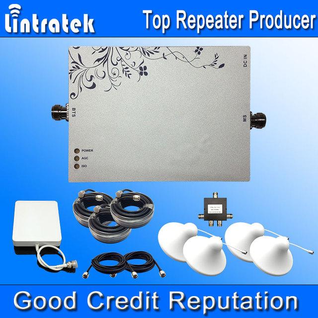 4G LTE 2600 MHz MGC Repetidor 4G Booster Amplificador de Señal 2600 Set 4G Antena dbm Ganancia 75dbi 1000 Metros Cuadrados de Área de Cobertura S10