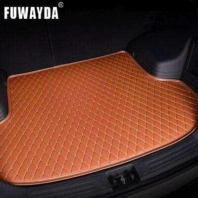 Accessoires de voiture FUWAYDA tapis de coffre de voiture personnalisé pour Chevrolet Sail 2010-2014 voyage antidérapant imperméable bonne qualité