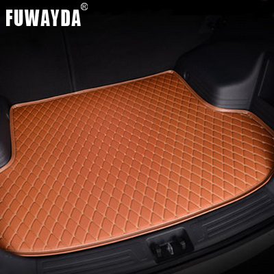FUWAYDA car ACCESSORIES Custom fit car trunk mat for Chevrolet Sail 2010-2014 travel non-slip  waterproof Good quality free shipping leather car floor mat for chevrolet sail 2nd generation 2010 2011 2012 2013 2014 2015 2016