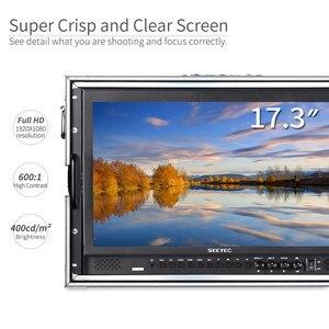 Image 4 - Seetec P173 9HSD CO 17.3 Inch IPS 3G SDI HDMI Phát Sóng Màn Hình Với AV YPbPr Mang Theo Màn Hình LCD Đạo Diễn Màn Hình Với Vali