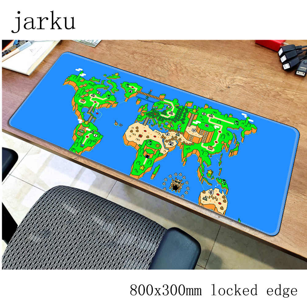 mario mousepad gamer 800x300X3MM gaming mouse pad large Gorgeous notebook pc accessories laptop padmouse ergonomic mat
