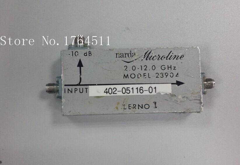 [BELLA] Narda 23904 2-12GHZ -10DB Coaxial Directional Coupler SMA