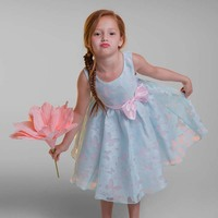 Girls Dress Princess Party Pageant Formal Dress Prom Little Baby Girl Birthday Dress Fancy Butterfly Kids Girl Wedding Flower