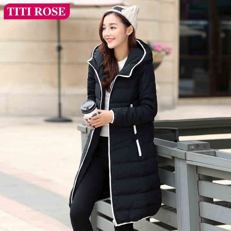 2015 New Hot Winter Thicken Warm Woman Down jacket Coat Parkas Outerwear Hooded Fashion Slim Long Plus Size XL Luxury High Black 2015 new hot thicken warm woman down jacket coat parkas outerwear hooded luxury slim long plus size xl slim cold leisure