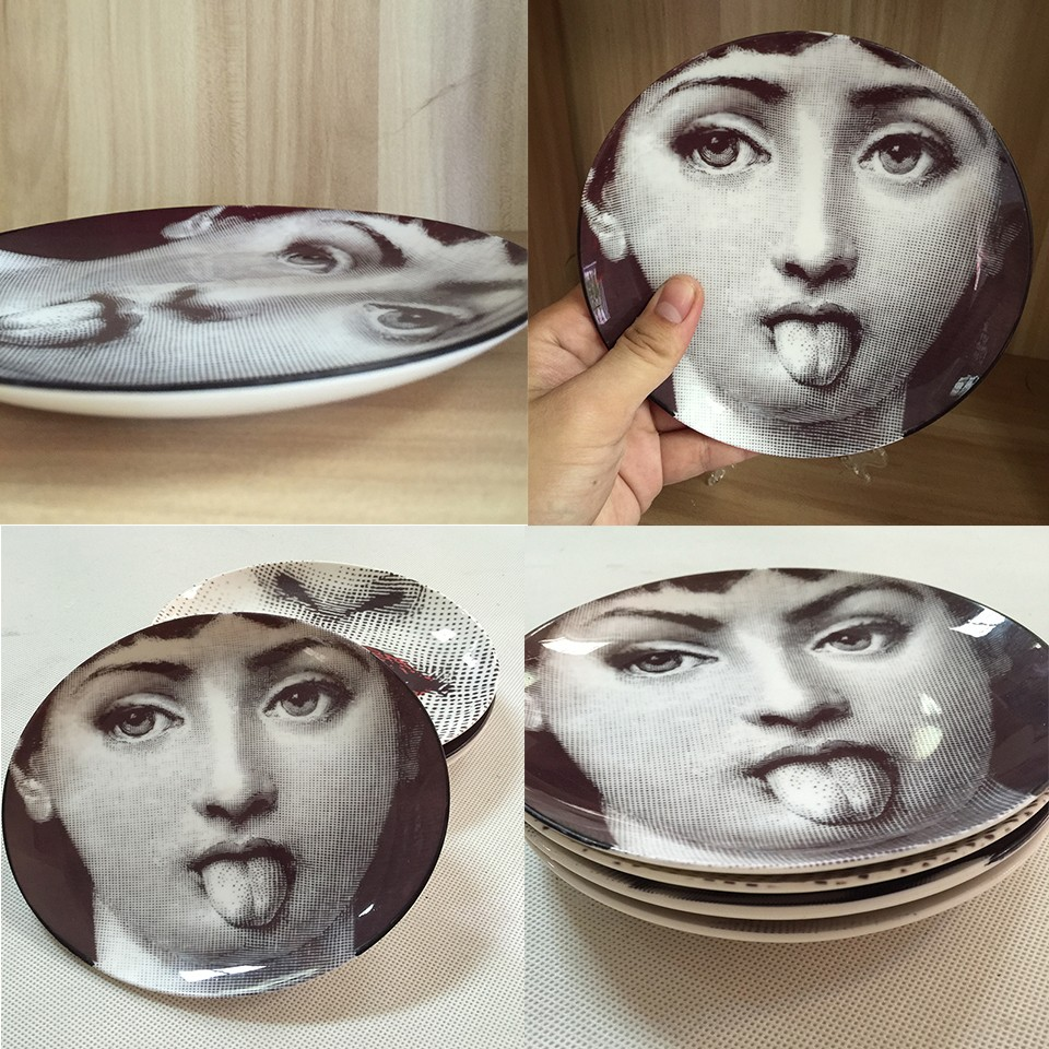 Decorative Face Plates Alluring European Style 8 Inch Porcelain Hang Dish Decorative Plate Wall Decorating Inspiration