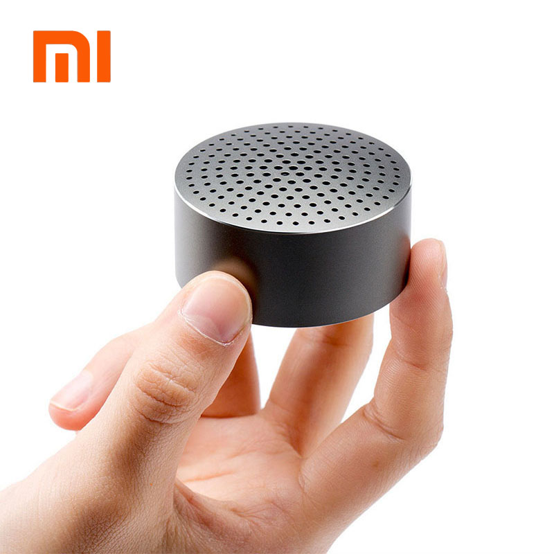2016 דובר מקורי Xiaomi Mi אלחוטית Bluetooth 4.0 דיבורית סטריאו מיני נייד מוסיקה רמקול עבור xiaomi Mi קופסא מרובעת