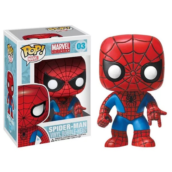 Funko pop   Movie: Marvel-Spider man Vinyl Figure  Model Toy with IN Box