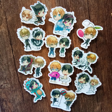 11PCS/SET durarara!! Anime Badge Characters Orihara Izaya & Heiwajima Shizuo DRRR! Full Set Brooch bijouterie Fancy Badge
