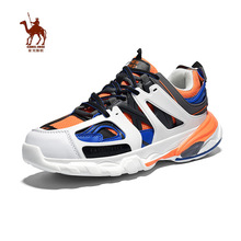 CAMEL JINGE 2019 New Fashion Outdoor Reteo Colorful Men Running Shoes Casual Lightweight Sole Male Sports Sneakers basket homme