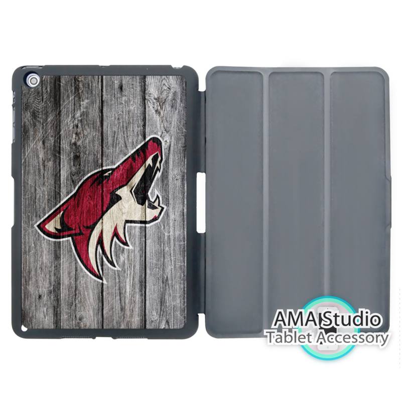Arizona Coyotes Ice Hockey Cover Case For Apple iPad Mini 1 2 3 4 Air Pro 9.7 10.5 12.9 2016 2017 a1822 New