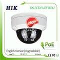 Hikvision ds-2cd2142fwd-i 4mp câmera dome ip com poe atualizável firmware do sistema de vigilância de vídeo de segurança cctv, verdadeiro wdr
