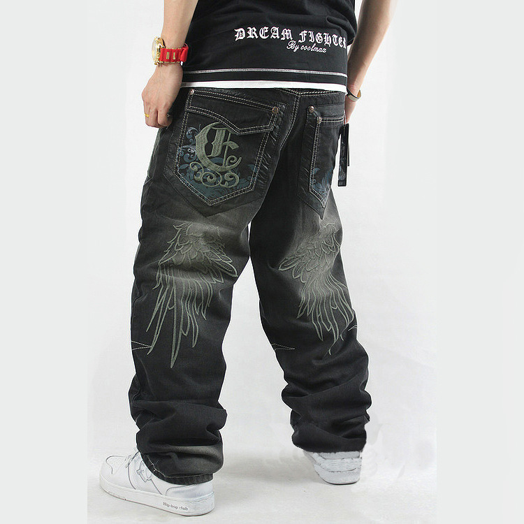 Famous Designer Brands High Quality printed Robin Jeans ...