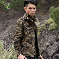 2018 Military Tactical Jacket Men Waterproof Coat Camouflage Hooded Army Camo Clothing