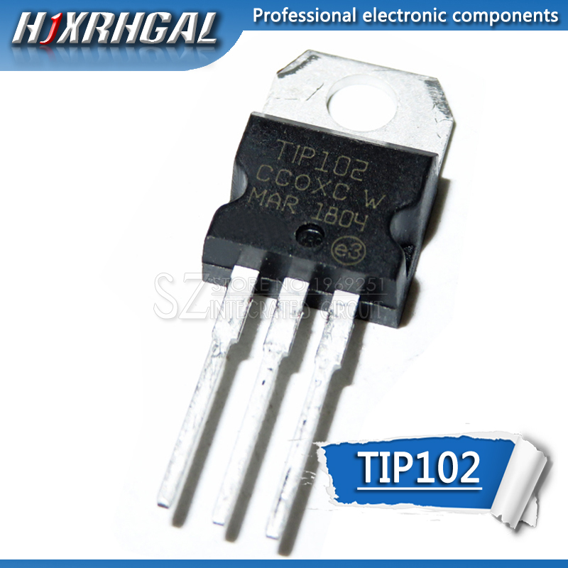 10PCS TIP102 TIP127 TIP107 TIP112 TIP120 TIP122 TIP31C TIP32C TIP41C TIP42C TO-220 Transistor new and original IC HJXRHGA