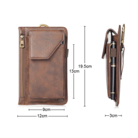 Multifunction Zipper Bag Wallet Case For Elephone S7 P9000 R9 Oukitel K6000 K4000 Pro Oukitel K6000