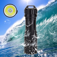 Real 5000LM XM L U2 LED Diver Diving Flashlight Portable Torch Lamp Clarity Underwater 100m