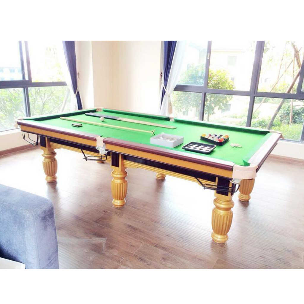 Billiard Pool Table Cloth Cover Playing 7 8 9ft Club 6pcs Strips Hotel Snooker