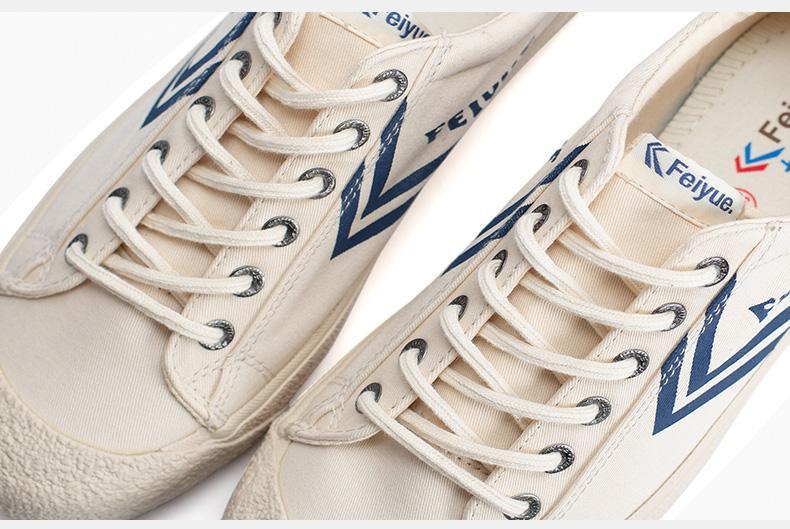 Feiyue shoes New classic Martial arts Tai Chi canvas shoes Rubber shoes men women sneakers 11