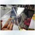 """6 """"x 60"""" 15 cm x 152 cm Car Auto Veículo Espelho Chrome Wrapping Adesivo de Vinil Prata Brilho enrole Film Tampa"""