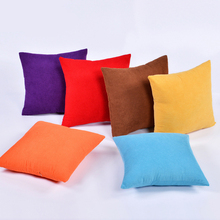New 1pc Velvet Pillow Waist Throw Home Cover Case  accessories Pillow Cover D30 cactus pillow case cover 1pc