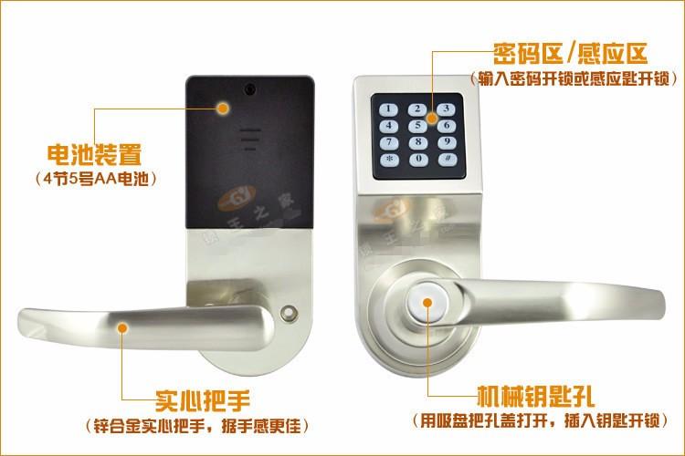 electronic password bolt Keyless 13