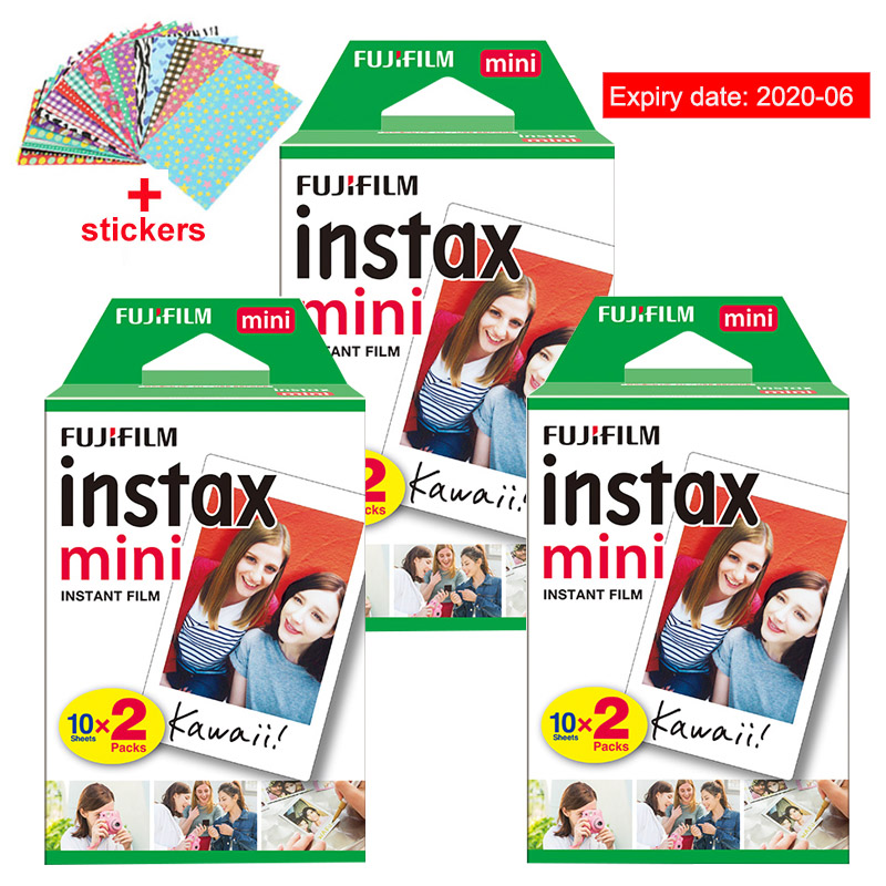 цена на Fuji Fujifilm Instax Mini 9 Film Photo Papers For Instax Mini 9 7s 8 90 70 25 55 Instant Polariod Camera Share SP-2 SP-1 Printer