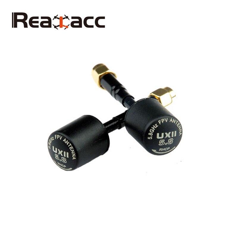 Heißer Verkauf Realacc UXII 5,8G 1.6dBi RHCP/LHCP TX/RX FPV Antenne SMA/Rp-sma-stecker Für RC Spielzeug Drone FPV Sender brille