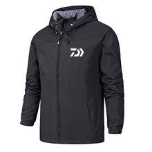 Daiwa Мужская рыболовная куртка Solider тактические камуфляжные рубашки быстрое высыхание уличная походная одежда мужская Солнцезащитная рыболовная рубашка